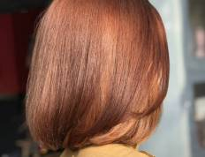 copper hair, hair trends 2018