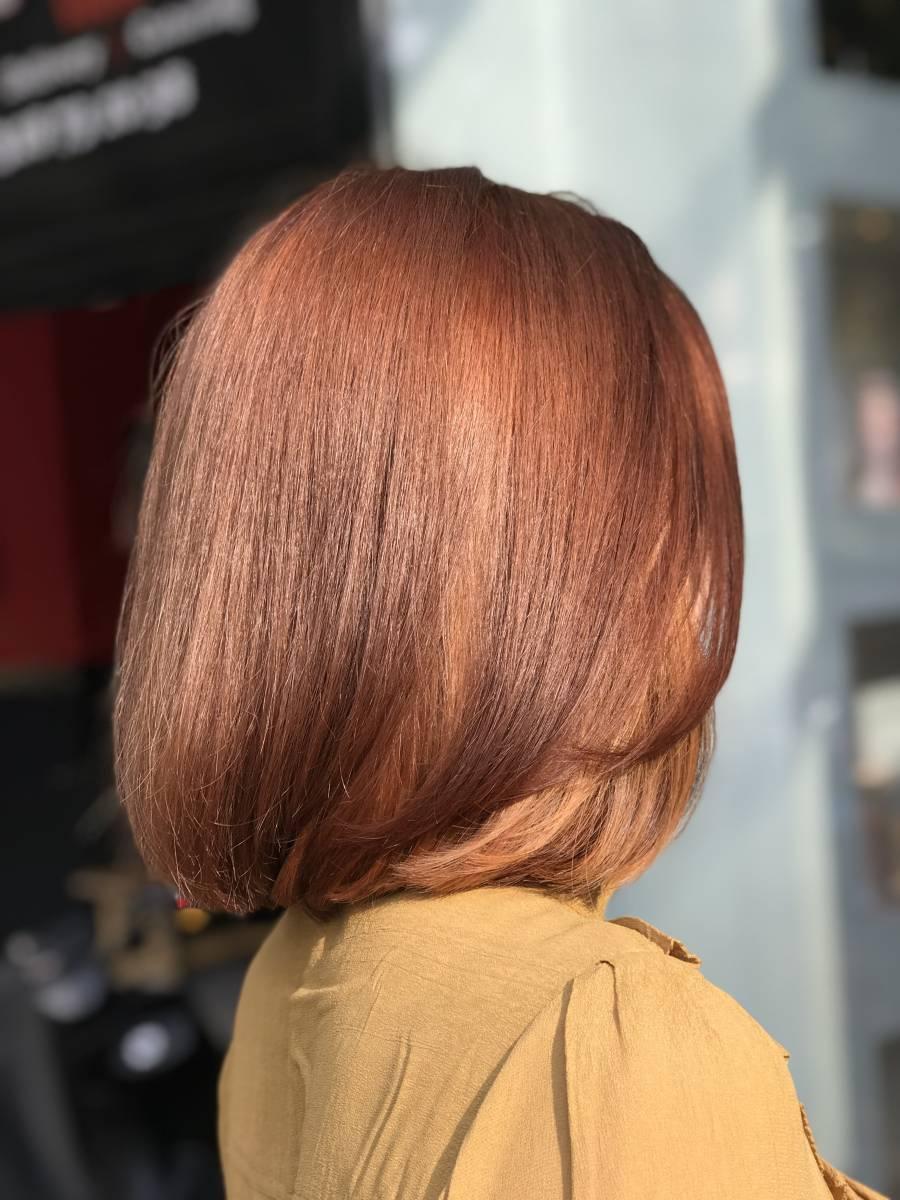 copper hair, hair trends 2018